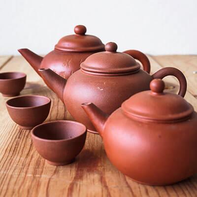 Für jeden Tee das richtige Teegeschirr aus Ton