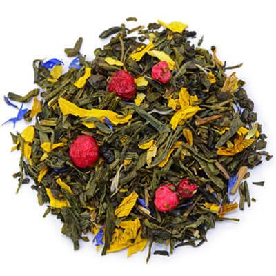 Wie wird grüner Tee aromatisiert?