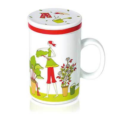 Teetassen von klassisch bis knallig