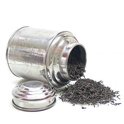StilvolleBlech-Teedosenfür Ihren Lieblingstee