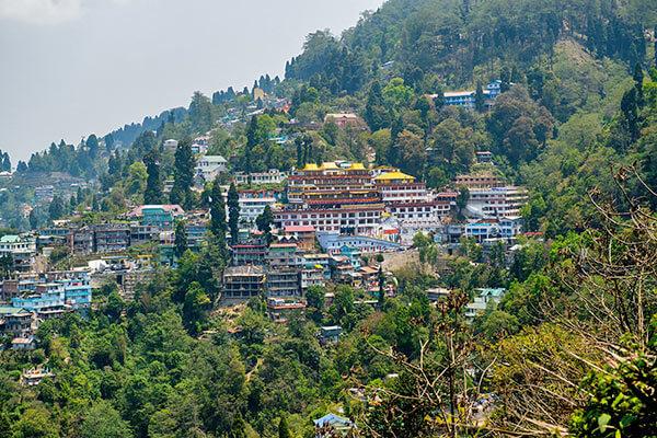 Darjeeling Stadt im Himalaya