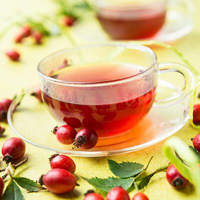 Früchtetee und Koffein